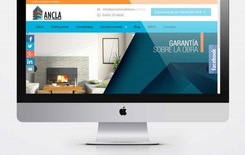 Sitio Web · Ancla Inmobiliaria