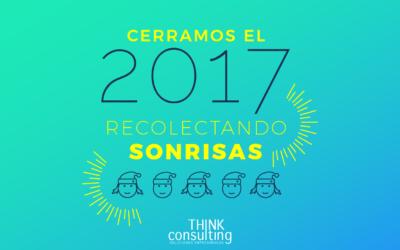 Thinkconsulting cierra 2017 recolectando sonrisas en acción solidaria