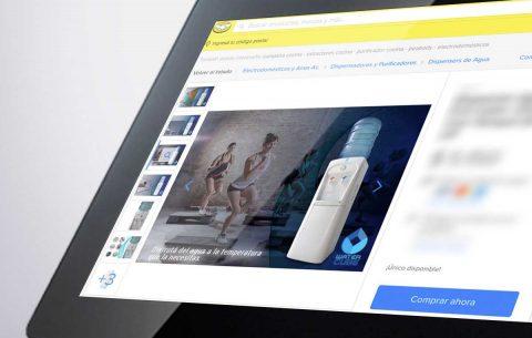 Diseño MercadoLibre · WaterCube