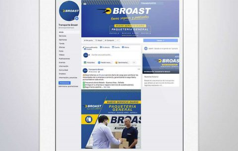 Redes · Transporte Broast