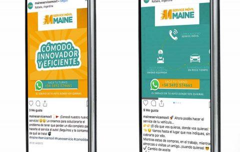 Redes · Maine Service Móvil