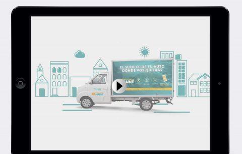 Video lanzamiento · Maine Service Móvil